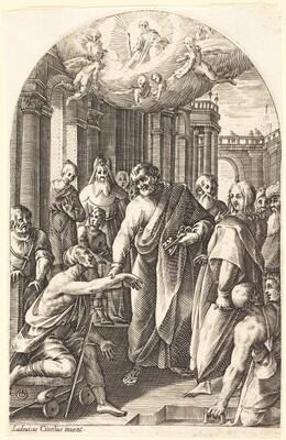 Peter and John Healing the Lame