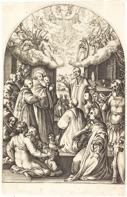 Death of Saint Benedict