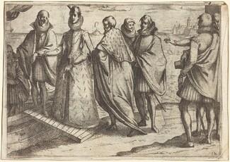 Embarkation at Genoa [recto]