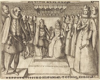 Meeting of Margaret of Austria and Philip III [recto]