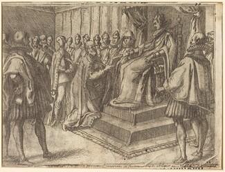 Reception of the Envoy of Poland [recto]