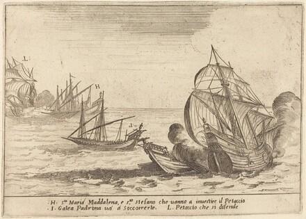 Boarding of the Petaccio