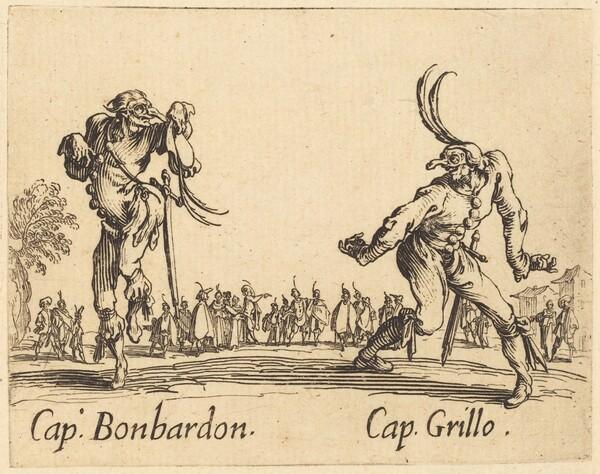 Cap. Bonbardon and Cap. Grillo