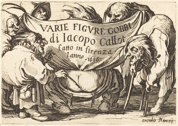 Frontispiece for Varie Figure Gobbi (Various Hunchback Figures)