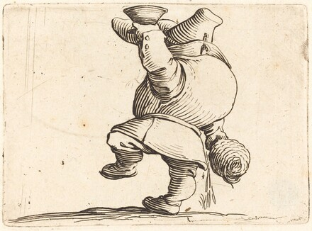 The Drinker, Back View