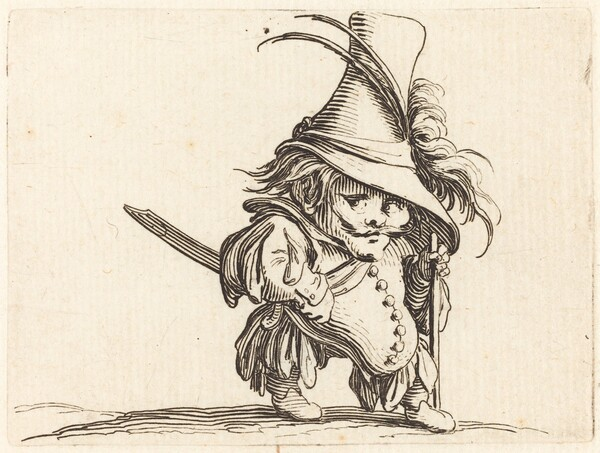 The Potbellied Man with the Tall Hat