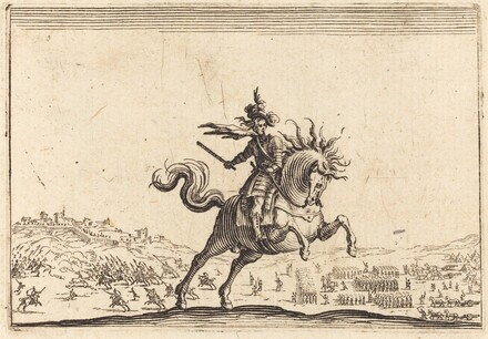 Military Commander on Horseback