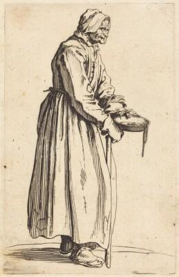 Beggar Woman with Pan