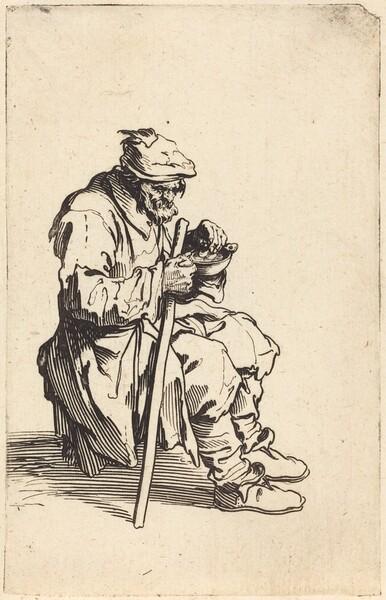Beggar Eating