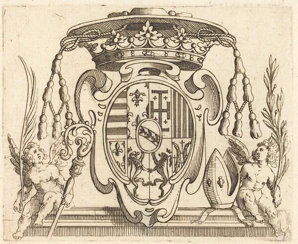 Coat of Arms of Nicolas Francis of Lorraine