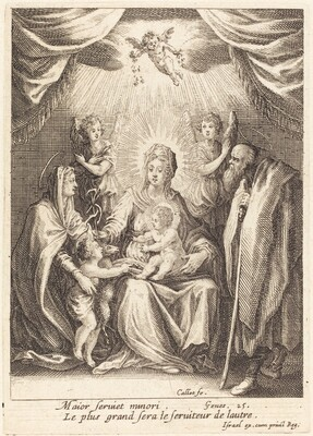 The Homages of the Infant Saint John