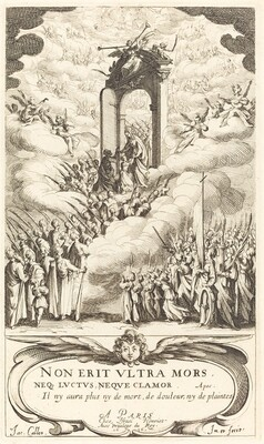 Frontispiece for The Calendar of Saints