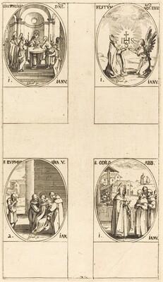 Circumcision; Festival of Name of Christ;  St. Odilo; St. Euphrosyna