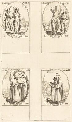 St. Agatha; St. Dorothy; St. Romuald of Ravenna; St. Paul, Bishop of Verdun