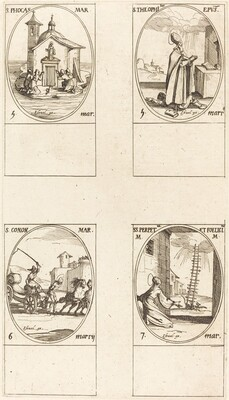 St. Phocas; St. Theophilus; St. Conon; Sts. Perpetua and Felicitas