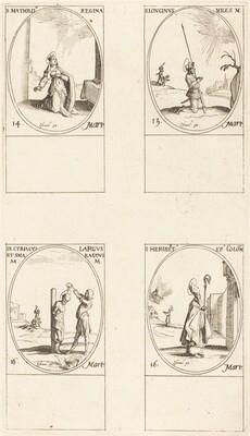 St. Matilda; St. Longinus; St. Cyriacus; St. Heribert