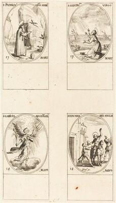 St. Patrick; St. Gertrude; St. Gabriel, Archangel; St. Edward