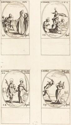 St. Anastasius; St. Theodora; Sts. Vitalis and Valeria; St. Peter Martyr