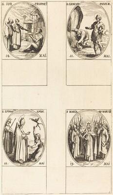 St. Job, Prophet; St. Gangulphus; St. Epiphanius; St. Mary of Martyrs