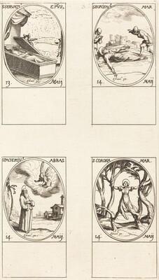 St. Servatius; St. Boniface; St. Pachomius; St. Corona