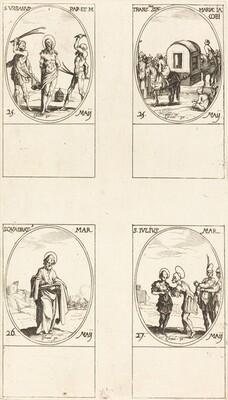 St. Urban; The Translation of St. Mary of James; St. Quadrat; St. Julius