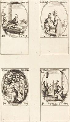 St. Germanus of Paris; St. Maximinus; St. Emmelia; St. Petronilla