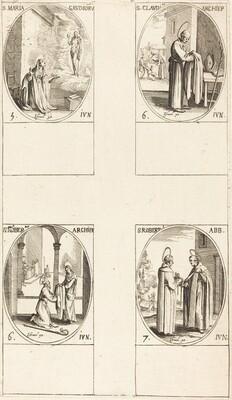 St. Maria Gaudioru; St. Cladius;  St. Norbert; St. Robert
