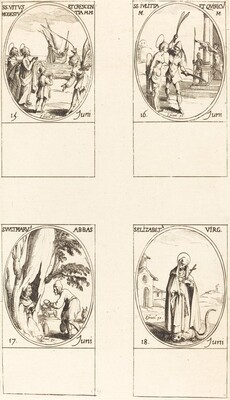 Sts. Vitus, Modestus, & Crescentia; Sts. Julitta & Quiricus; St. Avitus, Abbot; St. E