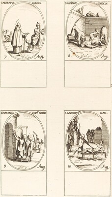 St. Albert of Sicliy, Carmelite; St. Marinus;St. Demetrius and Companions; St. Lauren