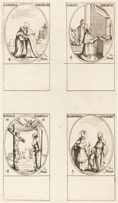 St. Emeric; St. Charles Borromeo;  St. Vitalis & Agricola; Sts. Zachary & Elizabeth