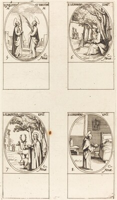 Sts. Philoteus and Theotimus; St. Leonard; St. Florentinus; St. Godfrey