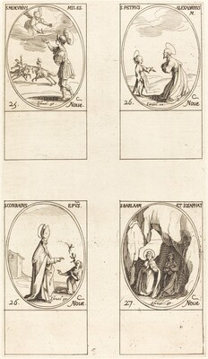 St. Mercury; St. Peter of Alexandria; St. Conrad; Sts. Barlaam and Josaphat