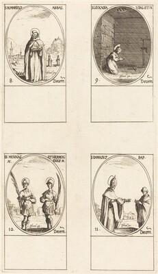 St. Romaricus; St. Leocadia; Sts. Mennas and Hermogenes; St. Damasus