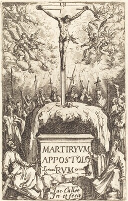 Title Page for The Martyrdoms of the Apostles