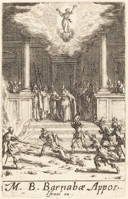 The Martyrdom of Saint Barnabas