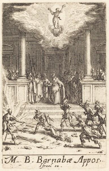 The Martyrdom of Saint Barnabas