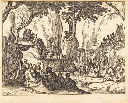 Saint John Preaching in the Desert