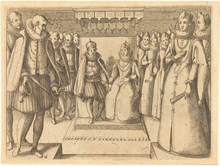 Meeting of Margaret of Austria and Philip III