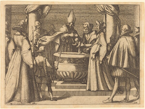 Baptism of the Prince of Spain
