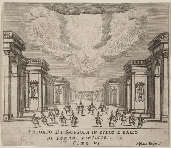 The Triumph of Saint Ursula in Heaven and the Roman Conquerors