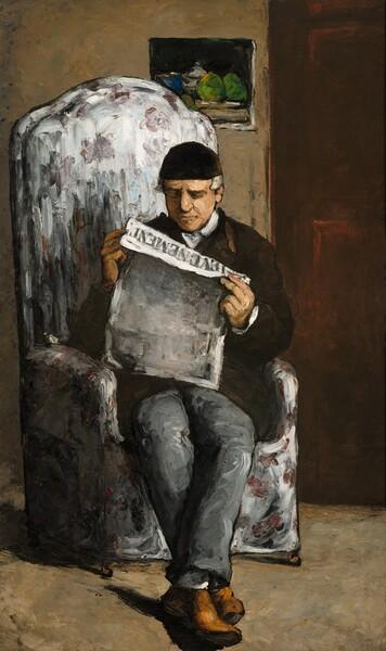 The Artist's Father, Reading L'Événement