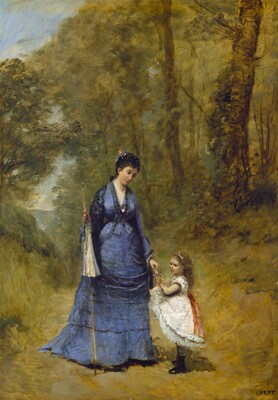 Madame Stumpf and Her Daughter