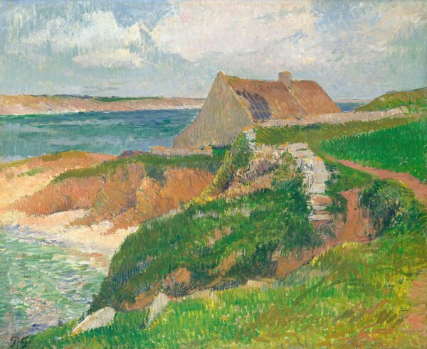 The Island of Raguenez, Brittany