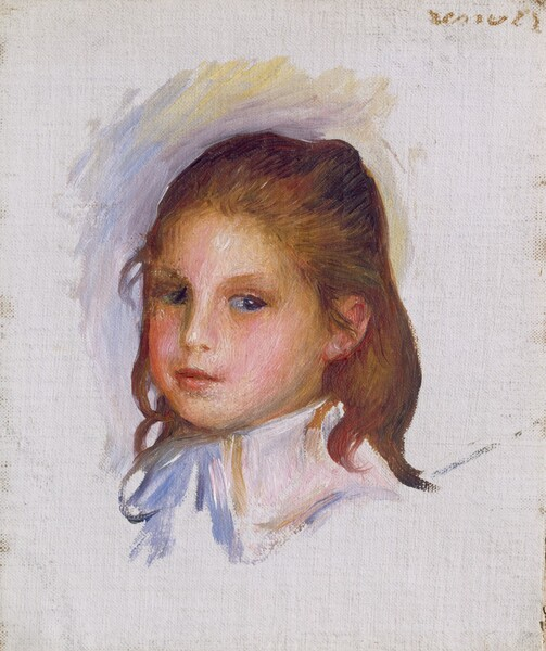 Child with Brown Hair