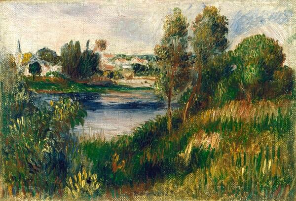 Landscape at Vétheuil