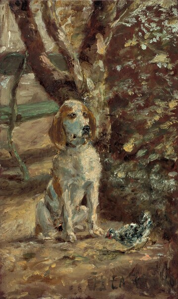 The Artist's Dog Flèche