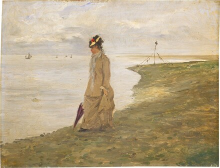 Woman by the Seaside