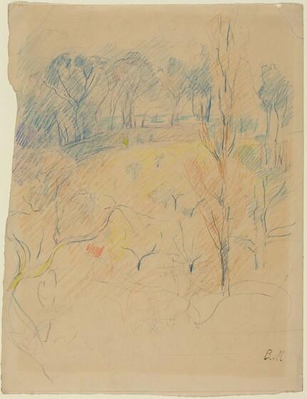 Berthe Morisot, Spring Landscape, c. 1890/1891