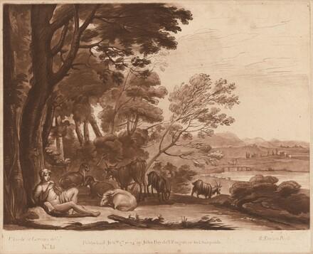 Landscape No. 15 from Liber Veritatis