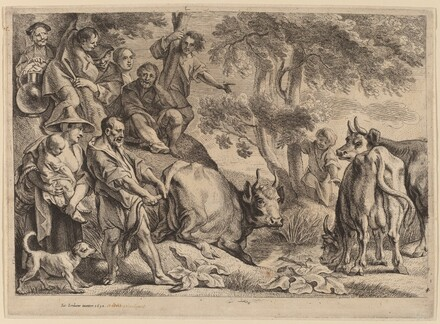 Cacus Robbing the Cattle of Hercules